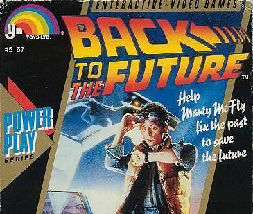 Slap that Back to the Future poster on anything and kids want it. That was LJN's thinking. It doesn't matter if it's worth playing or not. Kids are stupid, too. Just repeat the same level with different colors. They had drugs to smoke, people. C'mon.