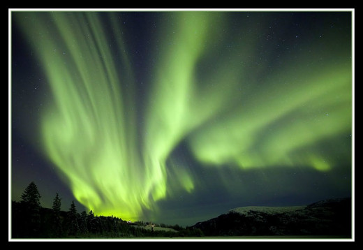 Aurora Borealis as seen in Canada