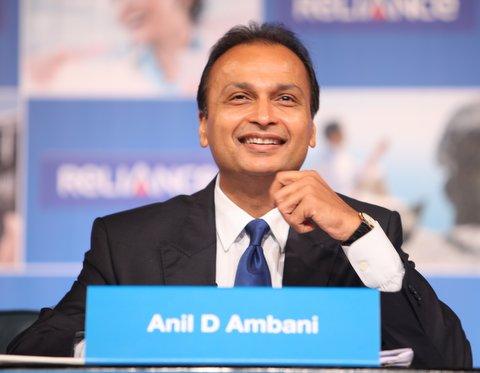 : Mr Anil Ambani's during 2012 Reliance Group AGM at Mumbai