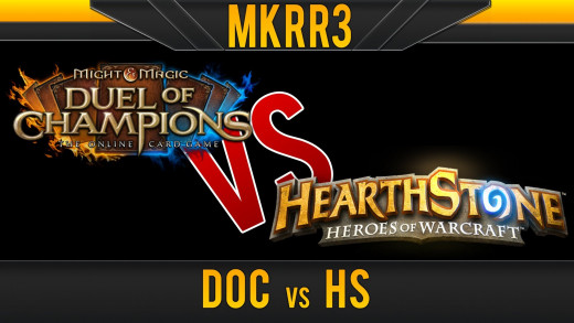 Duel of Champions Versus Hearthstone!