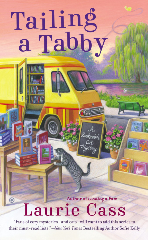 Second installment of the Bookmobile Cat Mysteries