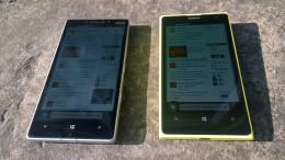 930& 1020 in bright sunlight angled
