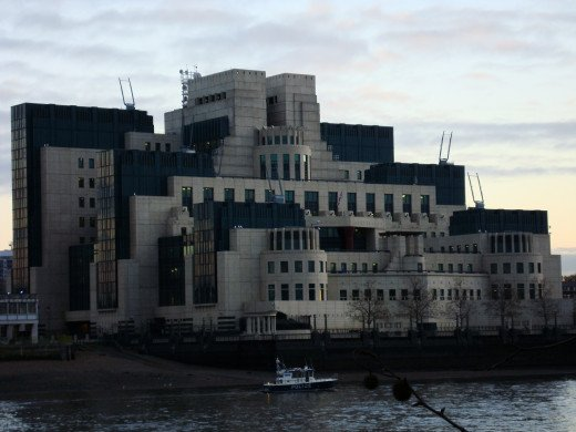 MI6 Headquarters.