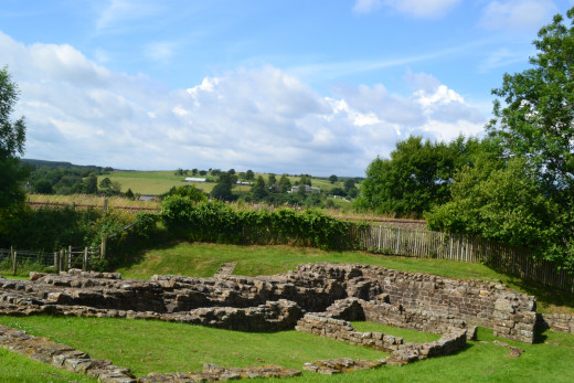 Hadrian's Wall was a defensive fortification  in Roman Britain which began in AD 122 during the rule of the Roman emperor Hadrian. Poltross Burn is one of the best preserved milecastle on Hadrian's Wall.