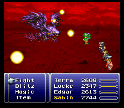 Combat in Final Fantasy VI