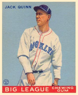 Jack Quinn's wild career included a massive drop-off in 1915 from his great season prior with the Baltimore Terrapins.