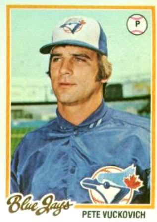 Pete Vuckovich was one three young pitchers who led the Blue Jays in 1977, the team's first year. Vuckovich was the most effective of the trio and eventually won a Cy Young Award.