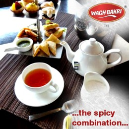 Samosa Snacks & Hot Tea
