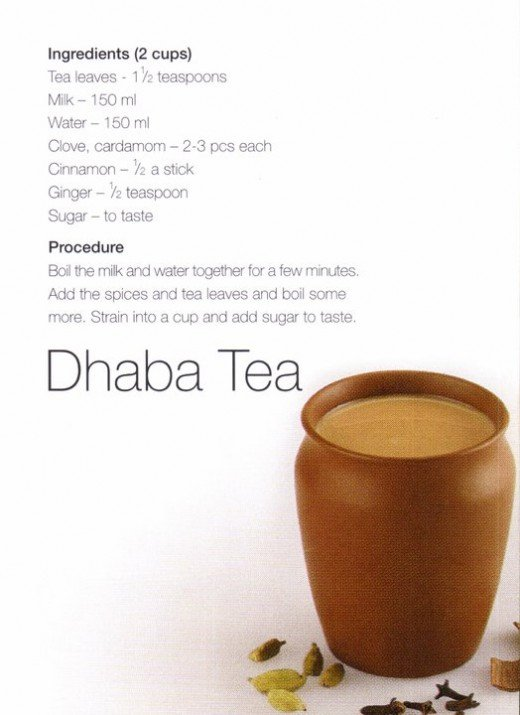 Dhaba Hot Tea & Recipe