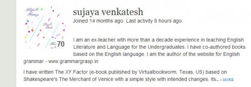 Beautiful Poetry!  Author Sujaya venkatesh http://sujayavenkatesh.hubpages.com/