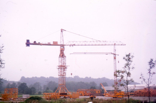 A Liebherr Crane in Germany