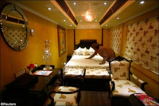 Luxury Rail Interior