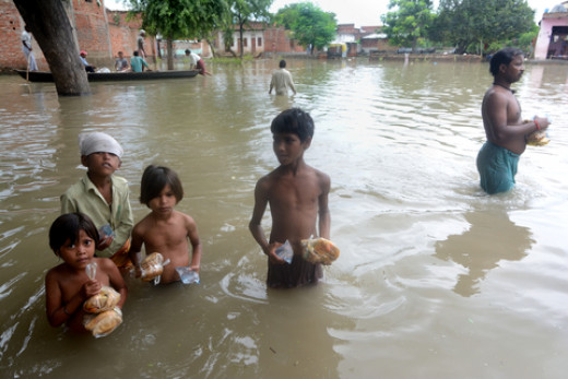 Thrift store purchases can relieve suffering during natural disasters such as flooding in developing nations like Qmar's.
