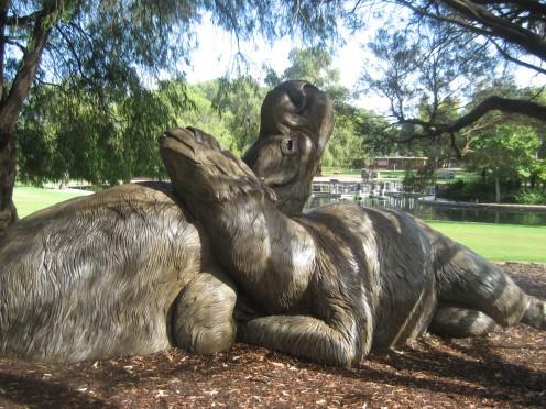 Diprotodon, Kings Park Perth