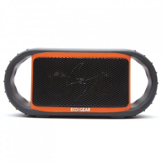 ECOXGEAR ECOXBT Rugged, Water Resistant, Waterproof Wireless Bluetooth Shower Speaker (Orange)