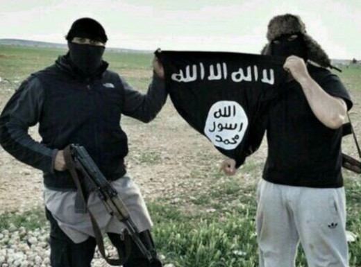Two British jihadists with ISIS in Syria.