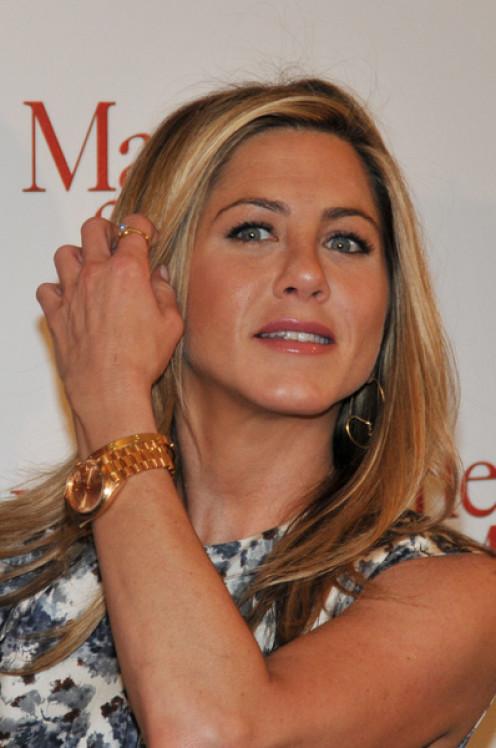 Jennifer Aniston Wearing the Rolex Presidential