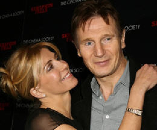 Natasha Richardson and Liam Neeson
