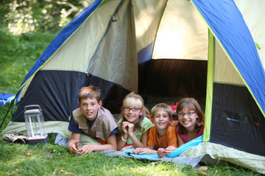 Try camping in the garden