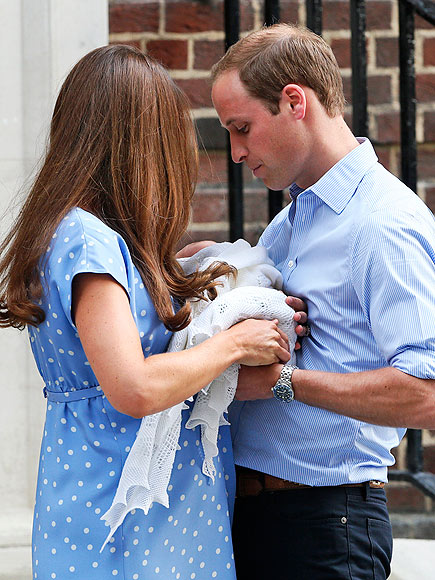 The royal debut of baby George.