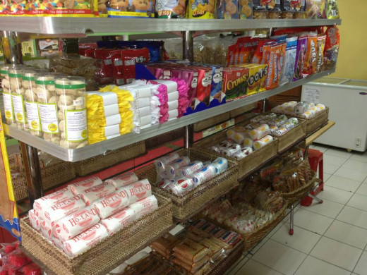 The hopia variety on display.