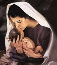Hannah Embraces her son after divine visitations.