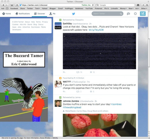 Twitter backgrounds can be used as advertisements.