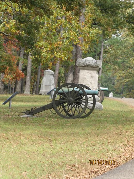 While Visiting Cloudland Canyon, Visit Chickamauga Civil War Site.