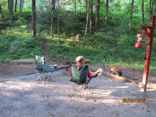 Camping at Unicoi