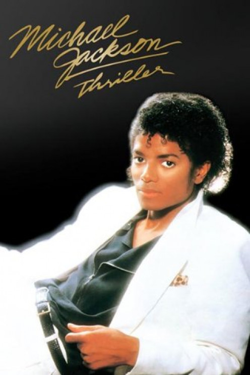 Michael Jackson-Thriller Album Cover, Music Poster Print, 24 by 36-Inch