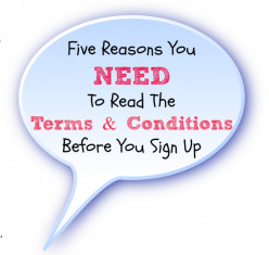 Why You Should Read Terms & Conditions Before Joining A Site