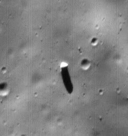 Did you know there is what appears to be a constructed monolith on Phobos, one of the moons that orbits Mars?