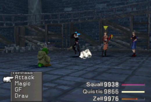 Combat in Final Fantasy VIII