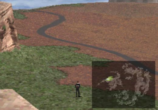 Overworld of Final Fantasy VIII
