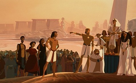 DreamWorks presents The Prince of Egypt