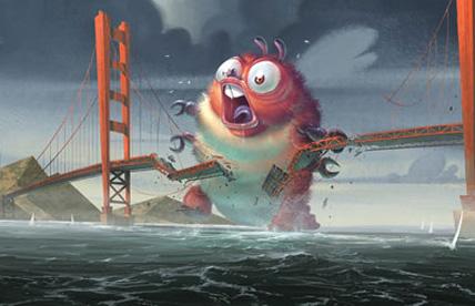 DreamWorks presents Monsters vs. Aliens