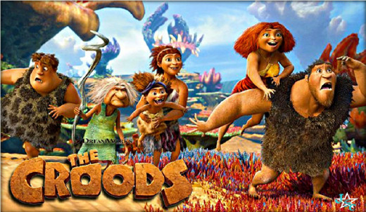 DreamWorks presents The Croods