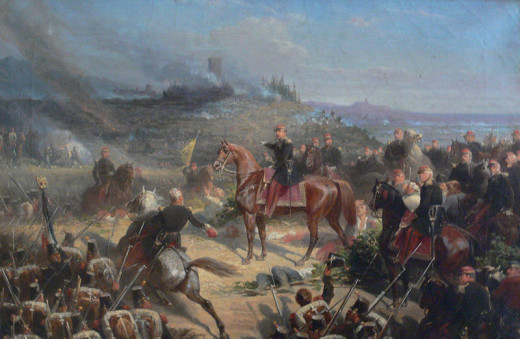 The battle of Solferino was the definitive engagement of the second Italian War of Independence. The French cannons proved more effective than the Austrian artillery over the course of the nine-hour battle.