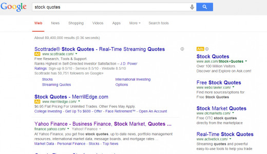 Stock Quote Search