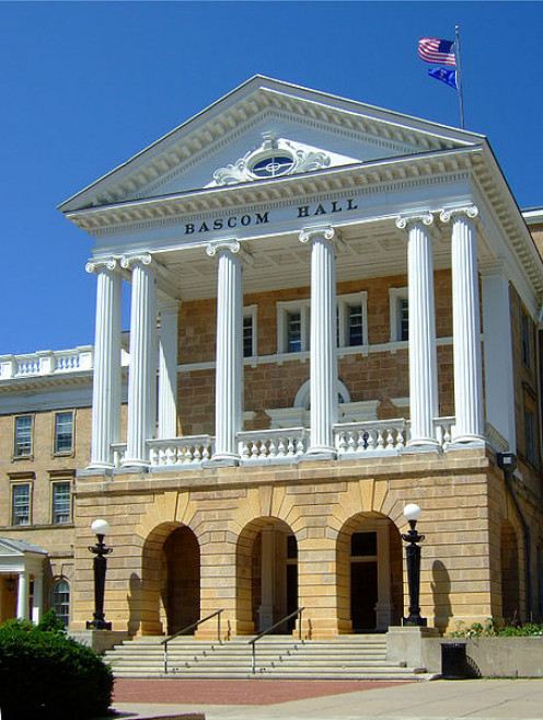 Bascom Hall at the University of Wisconsin.