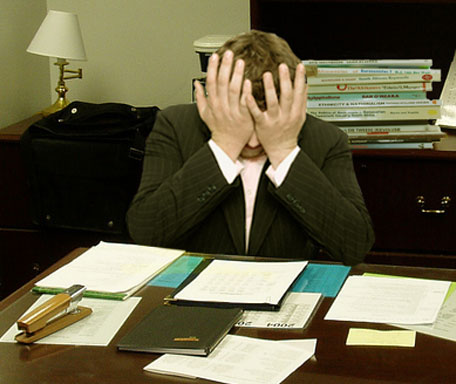 Many people deal with job dissatisfaction and stress.