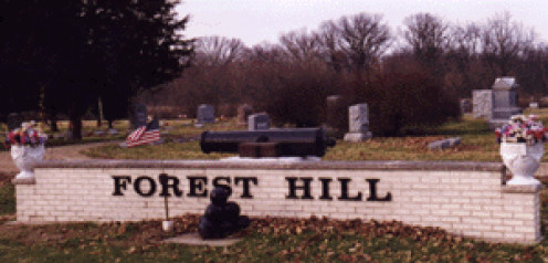 Forest Hill Cemetery, Wyanet, Illinois