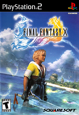 Final Fantasy X Boxart