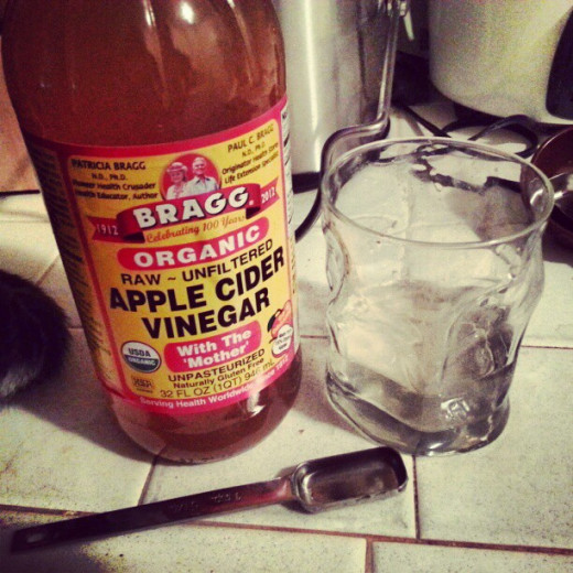 Drinking Apple Cider Vinegar can help to prevent heartburn, or to reduce its affects.