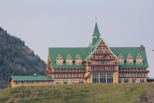 Prince of Wales Hotel at Waterton National Park