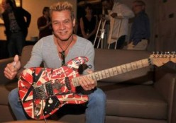 Eddie Van Halen and The Frankenstrat Stratocaster