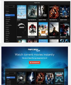 Popcorn Time is 100% free.