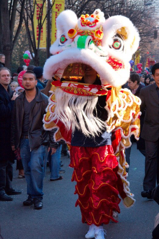 Chinese New Year, which took place in the 13th arrondissement of Paris, France Image 2