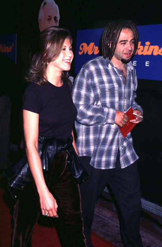 Aniston and Duritz