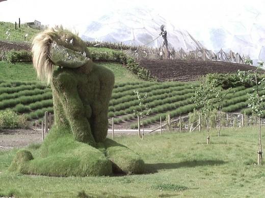 Grasswoman - eden Project